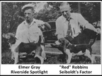 "Elmer Gray and ""Red"" Robbins"